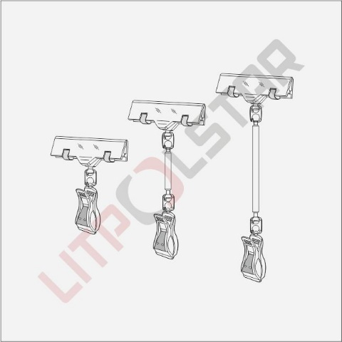 BUC & LHC (Big Universal Clamp with Label Holder Clip) Image
