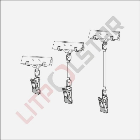SC & LHC (Small Clasp-pin with Label Holder Clip) Image