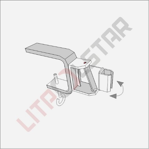 Swinging screw Clamp Image